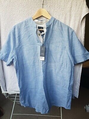 Atlantic Bay New Mens Shirt Short Sleeve New • 12£
