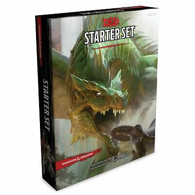 £17.10 • Buy Dungeons And Dragons Starter Set Misc. Supplies) Roleplaying Fantasy DnD DD