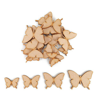 Butterfly MDF Craft Shapes Wooden Blank Decoration Embellishments Bug Insect Art • 2.15£