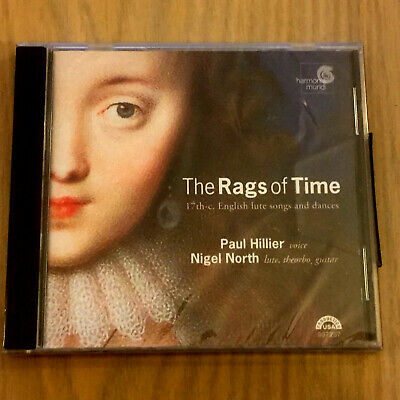 £12.99 • Buy The Rags Of Time : 17th Century English Lute Songs & Dances (CD 2002) NEW/SEALED