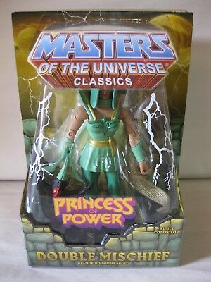 $45.95 • Buy 2014 MOTUC Masters Of The Universe Classics 6  Double Mischief POP 30th New MIP