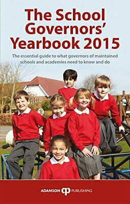 The School Governors Yearbook 2015, Stephen Adamson, Used; Good Book • 3.28£