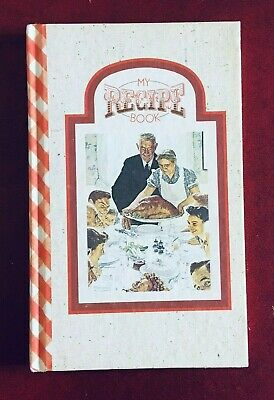 $ CDN14.99 • Buy VTG My Recipe Book 1980 Norman Rockwell Cover 160 Pages USA Never Used