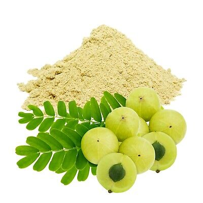 Organic Amla Powder From India (Indian Gooseberry, Natural Vitamin C) • 18.99£