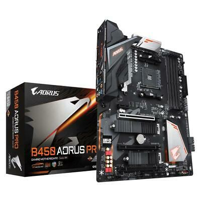 AU279 • Buy Gigabyte B450 AORUS PRO ATX Gaming Motherboard AMD Socket AM4 DDR4 M.2 HDMI