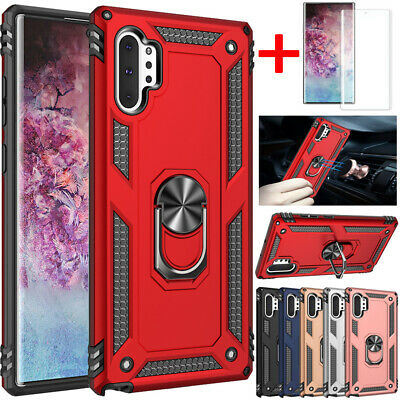 $ CDN9.21 • Buy For Samsung Galaxy Note 10 9 S10 S21 Plus Shockproof Armor Ring Stand Case Cover