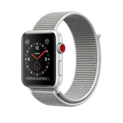 $ CDN406.01 • Buy Apple Watch Gen 3 Series 3 Cell 38mm Silver Aluminum FREE SHIPPING