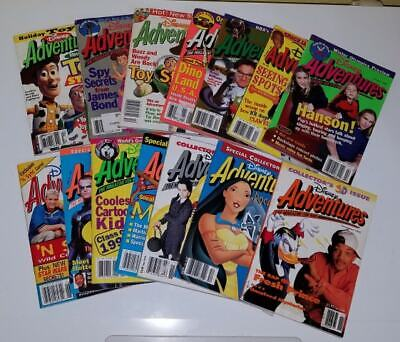 $7.75 • Buy Disney Adventures Magazine Back Issues 1992 1993 1995 1996 1997 1998 1999 CHOOSE
