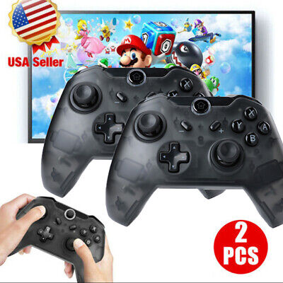 $17.67 • Buy Wireless Pro Controller Remote Gamepad For Nintendo Switch Console Black / Blue