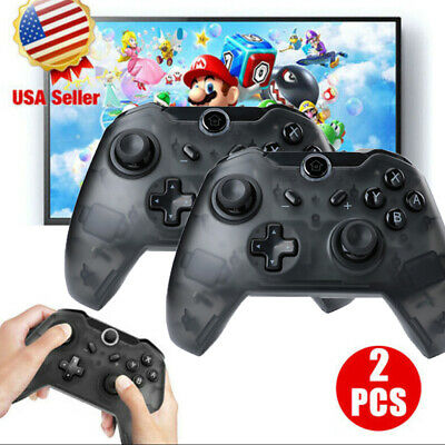 $47.99 • Buy Wireless Pro Controller Remote Gamepad For Nintendo Switch Console Black / Blue