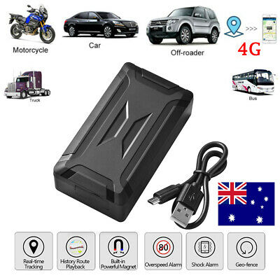 AU118.99 • Buy 4G GPS Tracker Tracking Device Powerful Magnet Vehicle Real Time Location MA2034