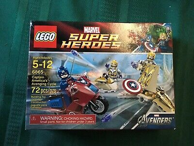 Lego: Marvel Super Heroes - Captain America's Avenging Cycle (6865) NIB!! • 29.13£