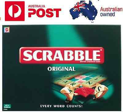 AU16.95 • Buy AU Scrabble Game Kid Adult Educational Toy Hot Fun Party Game Family Board Game