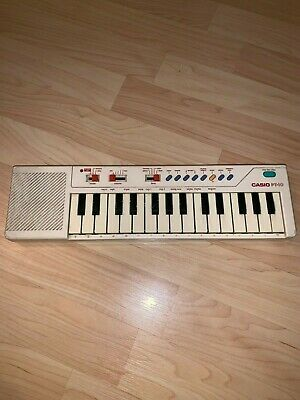 $49.99 • Buy Vintage Casio PT-10 Mini Electronic Keyboard Piano Portable 80's