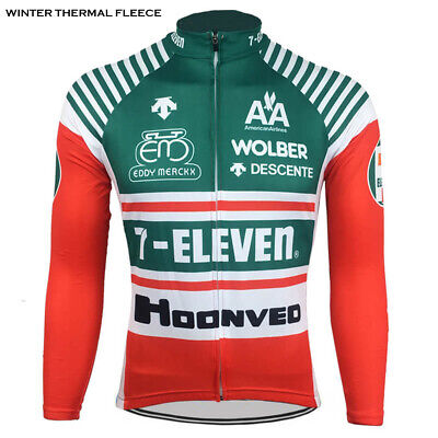 AU42.07 • Buy 7-Eleven Descente Retro Cycling Jersey Long Sleeve