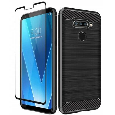 AU11.95 • Buy LG V50 V40 Thin Q & LG V30 Plus Hybrid Shockproof Case Heavy Duty Bumper Cover