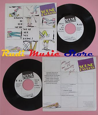 LP 45 7'' Sound Express Listen To The Music What Sre You Doing? No CD Mc DVD • 43.27£