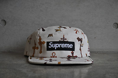 $ CDN170.38 • Buy Supreme Crosses White Box Logo Camp Cap