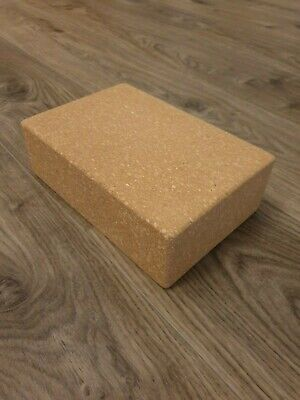 AU39.95 • Buy Cork Yoga Block By One Earth Fitness