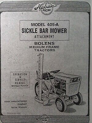 sickle bar mowers
