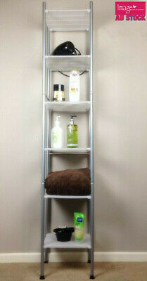 AU19.95 • Buy 6 Tier Corner Shelf Shower Caddy Adjustable Storage Wall Rack Kitchen Bathroom