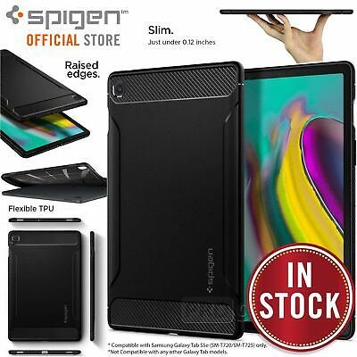 AU39.99 • Buy SPIGEN Rugged Armor Resilient Soft Cover For Samsung Galaxy Tab S5e 10.5 Case