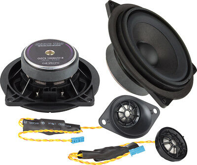 Ground Zero 4  2 Way Component Speaker + Underseat Sub Set Upgrade Kit BMW E60  • 575£