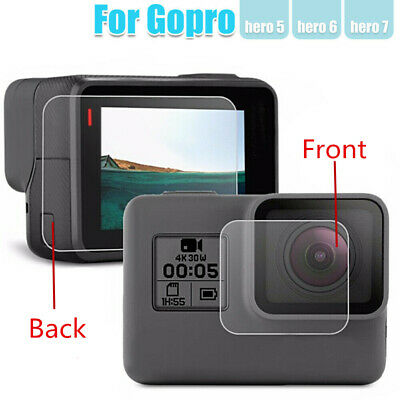 $ CDN1.89 • Buy 9H Tempered Glass Films Screen Protector For Sport Camera Gopro Hero  5 6 7