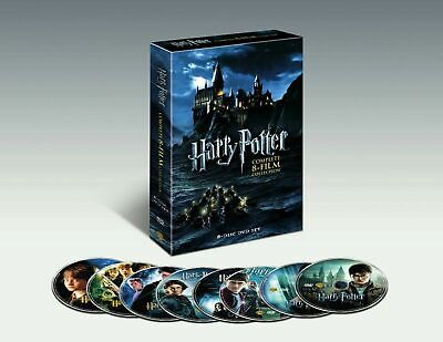 $16.50 • Buy Harry Potter The Complete 8-Film Collection (DVD 2011, 8-Disc Set) FREE SHIPPING