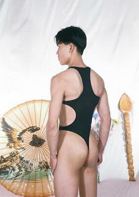 Men's Unikini Sexy Lycra Bodysuit Thong Back Swimwear • 19.29£