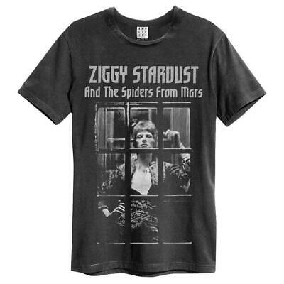 Amplified David Bowie - Ziggy Stardust Spiders From Mars - Unisex T-Shirt • 16.95£
