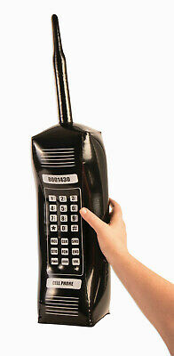 AU10.31 • Buy 80's Retro Inflatable Cell Phone Costume Accessory