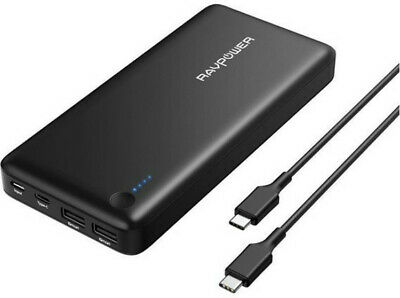 AU129.95 • Buy RAVPower 26800mAh PD Portable Charger USB C Power Bank Fast Recharged RP-PB058