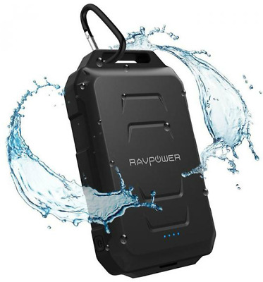 AU72.09 • Buy RAVPower Xtreme Series Waterproof Portable Charger 10050mAh Power Bank Rugged