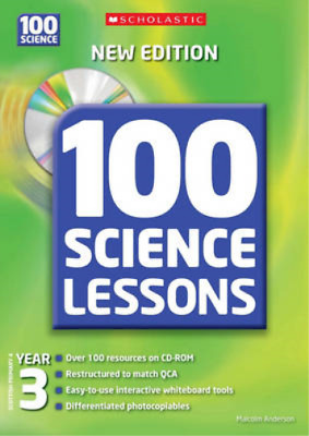 100 Science Lessons For Year 3 With CDRom, Anderson, Malcolm, Used; Good Book • 3.48£