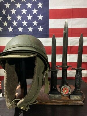AU51.70 • Buy Display Stand Combo For Helmet And Bayonet - WWI, WWII Helmets And Bayonets