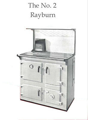 £5.40 • Buy User Manual For `The Rayburn No 2 Solid Fuel Oven/ Cooker,15 Pages.