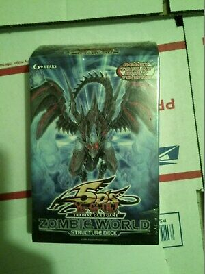 AU98.46 • Buy 3x  YuGiOh 5D's Zombie World English Structure Deck 1st Ed. Factory Sealed
