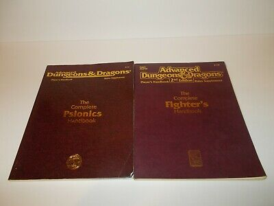 dungeons and dragons player handbook