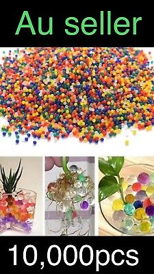 AU7.69 • Buy Upto 10000pcs Orbeez Mixed Colours Crystal Water Plant Beads Bio Hydro Ball $