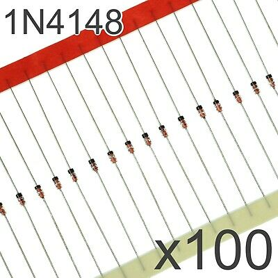 $ CDN4.29 • Buy 100x 1N4148 DO-35 Diode - Small Signal Fast Switching Diodes