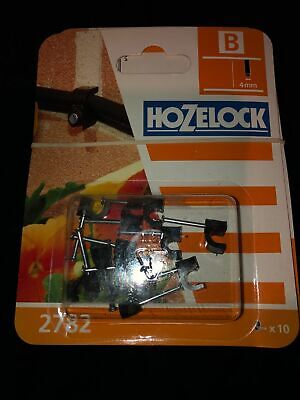 Hozelock 2782  Micro Irrigation X10 Clips For 4mm Tube • 2.75£