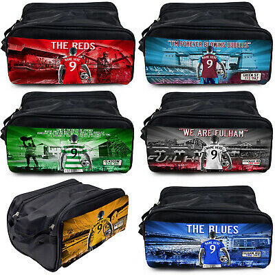 £12.95 • Buy Football Boot Bag Sports Gym Shoe Trainer PE Kit Personalised Gift - All Teams