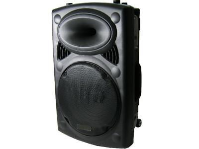 Mobile Dj Pa Party Battery Sound Music System 700 Watt Speaker Micro MP3 USB • 195.30£