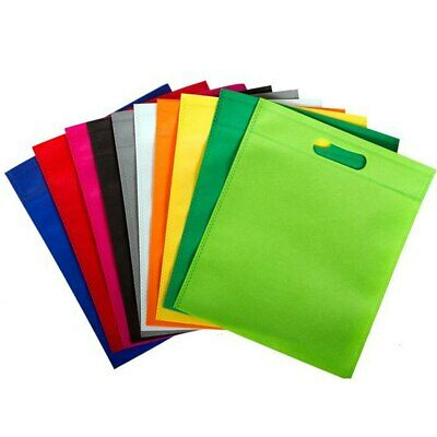 £7.99 • Buy Coloured Non Woven Bag With Carry Handles - Party Treat Goodie Gift Bag