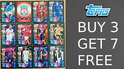 Match Attax 2019/20 19/20 Base Cards - Team Badges Duo Cards - Champions League • 1.35£