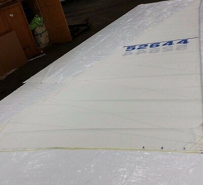 $485 • Buy Roller Furling Main Sail For In Excellent Condition By Technique Voile 39' Luff
