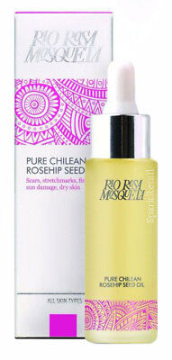 Rio Rosa Mosqueta Pure Chilean ROSEHIP SEED OIL 50ml Scars/Stretchmarks/Lines • 21.99£