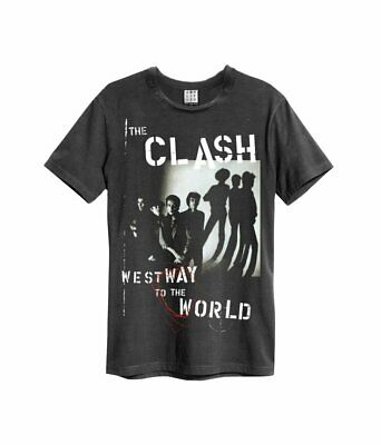 £20 • Buy Amplified The Clash Westway To The World Unisex Charcoal T-Shirt