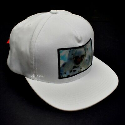 $ CDN205.95 • Buy NWT Supreme NY Astronaut Holographic Box Logo Hat Cap White FW16 DS AUTHENTIC